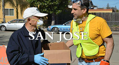 Flood Relief In San Jose