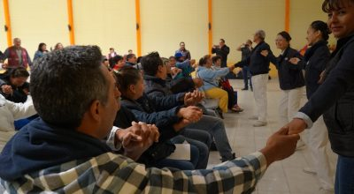 Training Local Volunteers in Tláhuac