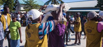 Rice Distribution in Haiti