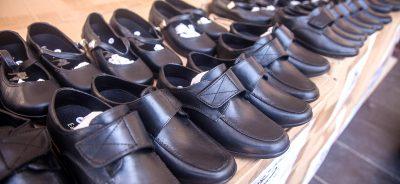New Shoes for La Saline's Students