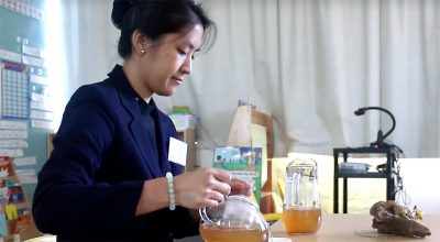 Teaching the Tea Ceremony