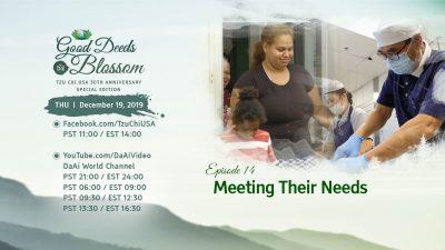 Episode 14 – Meeting Their Needs