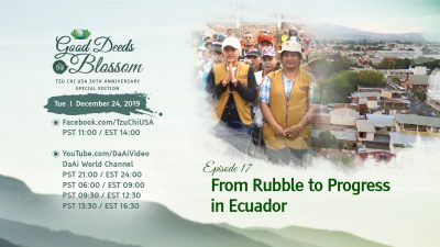 Episode 17 – From Rubble To Progress In Ecuador