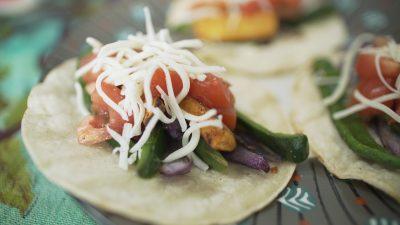 VVM Recipe: Veggie Fajitas
