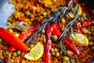 VVM Recipe: Veggie Paella