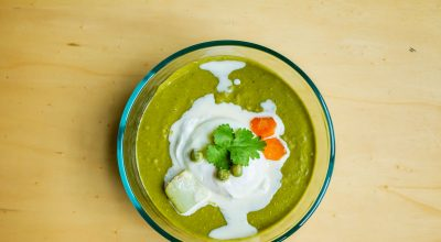VVM Recipe: Green Veggie Cream
