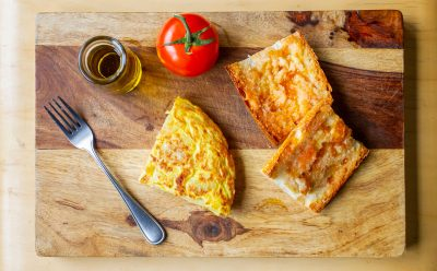 VVM Recipes: Spanish Omelette with Pan Tumaca