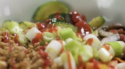 VVM Recipe: Tofu Bibimbap