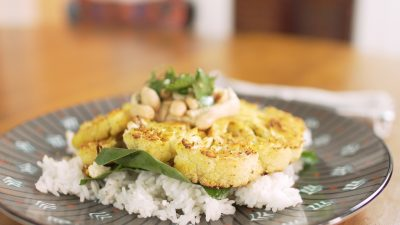 VVM Recipe: Savory Cauliflower Steaks