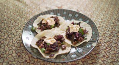 VVM Recipe: Mushroom Tacos