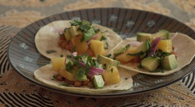 VVM Recipes: Pickled Red Onion Tacos