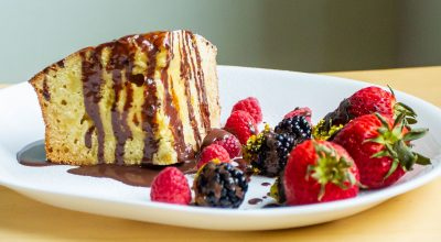 VVM Recipes: Citrus Cake with Berries