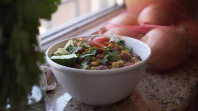 VVM Recipes: Vegan Corn and Bean Chili