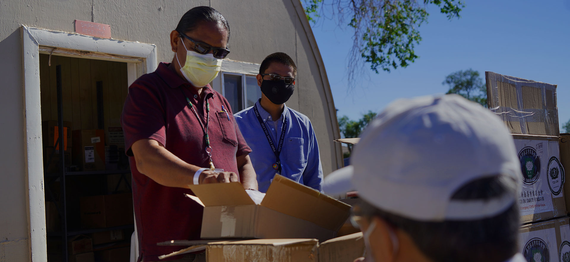Tzu Chi Phoenix Brings PPE Donations to the Navajo Nation