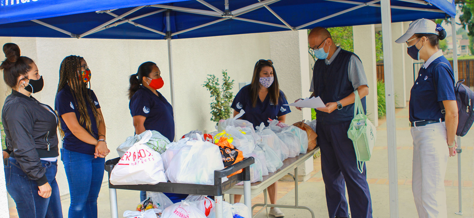 Relieving Hunger: Food Distribution in San Dimas and NY