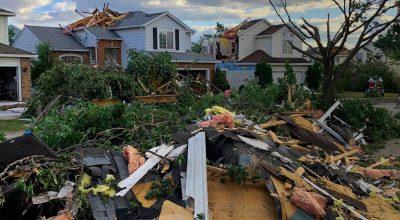 A Tornado Tears Through Chicago